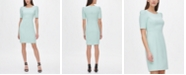 DKNY Puff Sleeve Sheath Dress