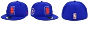 New Era Los Angeles Clippers The Circle Patch 59FIFTY-FITTED Cap