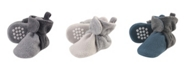 Luvable Friends Baby Girls and Boys Cozy Fleece Booties
