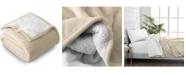 Bare Home Sherpa Fleece Blanket, Full/Queen