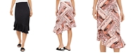 Thalia Sodi Asymmetrical Flounce-Hem Skirt, Created for Macys