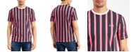 A|X Armani Exchange Men's All Over Vertical Stripe T-Shirt, Created for Macy's