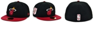 New Era Miami Heat The Pennant Patch 59FIFTY-FITTED Cap