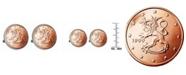 American Coin Treasures Finland 2-Euro Coin Cufflinks