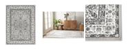 "Global Rug Designs Haven Lane Hal06 Gray and Ivory 5'2"" x 7'2"" Area Rug"