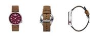 Columbia Men's Canyon Ridge Texas A M Saddle Leather Watch 45mm