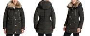 Michael Kors Faux-Fur-Collar Down Puffer Coat, Created for Macy's