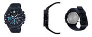 G-Shock Men's Black Analog Metal Head Resin Band Watch 51mm