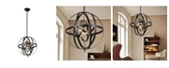 """Home Accessories Vaydin 18"""" 1-Light Indoor Pendant Lamp with Light Kit"""