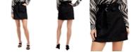 GUESS Camila Paper-Bag Mini Skirt