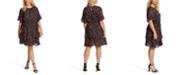 Jessica Simpson Trendy Plus Size Thurston Floral-Print Dress