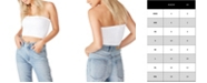 COTTON ON Women's Samantha Seamless Rib Tube Top