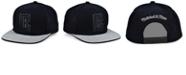 Mitchell & Ness Los Angeles Clippers Black Heather Flip Snapback Cap