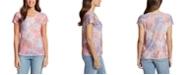 Gloria Vanderbilt Women's Opal Baroque Montage T-shirt