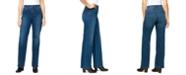 Gloria Vanderbilt Women's Relaxed Straight Short Length Jeans