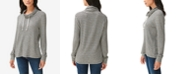 Lucky Brand Cowlneck Jersey Pullover Top