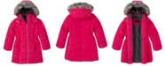 Calvin Klein Little Girls Aerial Hooded Jacket