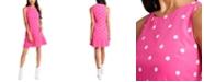 Riley & Rae Mini Dede Dot-Print Ruffle-Hem Dress, Created for Macy's
