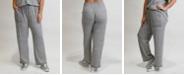 COIN 1804 Women's Plus Size Cozy Contrast Stitch Pant
