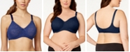Bali Comfort Lace 'n  Smooth Seamless Underwire Bra 3432
