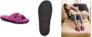 Isotoner Signature Isotoner Micro-Terry Satin Slide Slipper