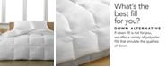 Calvin Klein Almost Down Down-Alternative Comforters