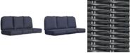 Furniture Monterey & Sandy Cove Outdoor Sofa Replacement Sunbrella® Cushion, Quick Ship