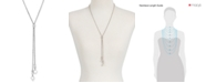 Lucky Brand Imitation Mother-of-Pearl Stone Lariat Necklace
