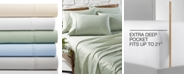AQ Textiles CLOSEOUT! Bradford StayFit 800 Thread Count 6-Pc. Extra Deep Pocket Sheet Set Collection