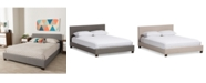 Furniture Brodyn Upholstered Bed Collection, Quick Ship