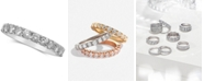 Macy's Diamond Gold Band (1 ct. t.w.) in 14k White, Yellow or Rose Gold
