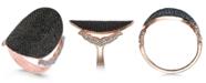 Macy's Diamond Pavé Dome Ring (2 ct. t.w.) in 14k Rose Gold