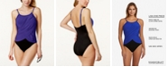 Magicsuit Draped Allover Slimming Underwire One-Piece Swimsuit