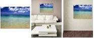 "Trademark Global Pierre Leclerc 'Hawaii Blue Beach' Canvas Wall Art, 30"" x 47"""