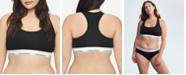 Calvin Klein Plus Size Modern Cotton Unlined Bralette QF5116