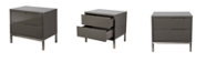 Moe's Home Collection Naples Side Table Gray