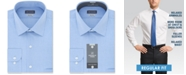 Van Heusen Men's Classic/Regular Fit Wrinkle Free Solid Micro-Check Dress Shirt