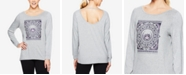 Gaiam Hailey Graphic Strappy-Back Long-Sleeve T-Shirt
