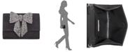 INC International Concepts INC Maraa Rhinestone Bow Clutch, Created for Macy's
