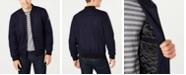 Kenneth Cole Men's Wool Bomber Jacket