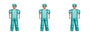 BuySeasons Minecraft Armor Prestige Big Boys Costume