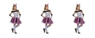 BuySeasons Zebra Little and Big Girls Costume