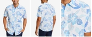 Nautica Men's Hawaiian-Print Linen Shirt