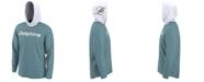 Nike Men's Miami Dolphins Helmet Hood Dri-FIT Cotton Long Sleeve T-Shirt