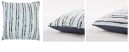 """Rizzy Home 22"""" x 22"""" Deconstructed Stripe Pillow Collection"""