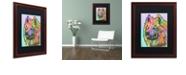 """Trademark Global Dean Russo 'Samoyed' Matted Framed Art, 16"""" x 20"""""""