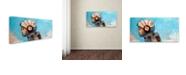 "Trademark Global Craig Snodgrass 'Rosie The Rocketeer' Canvas Art, 24"" x 47"""