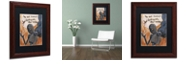 "Trademark Global Craig Snodgrass 'No One Knows' Matted Framed Art, 11"" x 14"""
