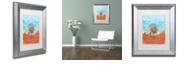 """Trademark Global Craig Snodgrass 'The Internet' Matted Framed Art, 11"""" x 14"""""""
