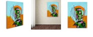 "Trademark Global Craig Snodgrass 'Segmented Man II' Canvas Art, 35"" x 47"""